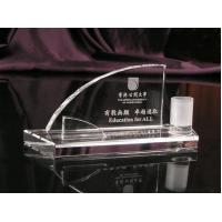 China SGS Transparent Laser Engraving Chemical Resistance Custom Acrylic Award For Activities wholesale