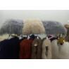 China One Sided Mongolian Lamb Lumbar Pillow , 16*16 Mongolian Sheepskin Throw Pillows  wholesale