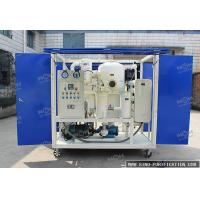 China Power Transformer Substation Insulating Oil Filtration Machine Mobile Type For Outdoor Use wholesale