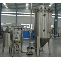 China SUS 304 Packing Production Line Candle Type Diatomite  Filter Machine For Craft Beer wholesale