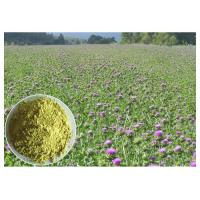 Buy cheap Light Yellow Herbal Plant Extract From Milk Thistle Seed Lower Blood Fat CAS 65666 07 1 from wholesalers
