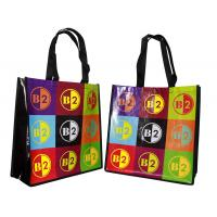 Buy cheap Waterproof Non Woven Carry Bag Custom Printed shining Coated from wholesalers