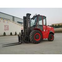 Buy cheap 3 ton 5 ton 2WD 4WD Rough Terrain Forklift with new design and High exhaust from wholesalers