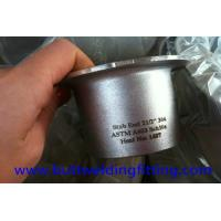 Buy cheap Chemical Butt Weld Fittings Stub end ASTM A403 304 2-1/2'' SCH10S ANSI B16.9 from wholesalers
