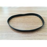 China EPDM / SILICONE Extrusion Rubber Thread , Elastic Rubber Flat Band wholesale