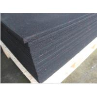 China Non Glare Rubber Flooring Material , Heat Insulation Rubber Floor Mats on sale