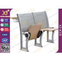 China Lecture Hall Attached College Classroom Furniture MultiLayer Folding Type wholesale