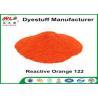 China Orange 122 Reactive Dyes Cotton Fabric Dye Powder Textile Dyestuffs wholesale
