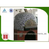 China Indoor Napoli Italy Pizza Oven Natural Lava Rock Gas Heating Round Top wholesale