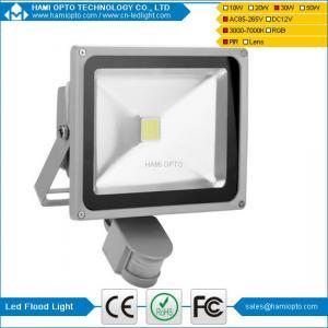 China Auto pir led flood light 30W Designer OEM Pir Led Flood Light 30w IP65 AC85-265V wholesale