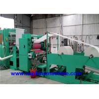 China Fully Automatic V Fold Paper Towel Making Machine With Embossing System wholesale