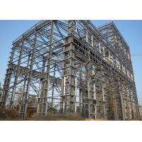 China Large Span Heavy Architectural Structural Steel Portal Frame With Bridge Crane wholesale