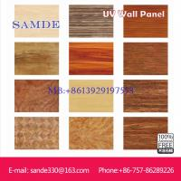 Buy cheap indoor decorative wall panel with UV coating 2440*1220*6/8/9mm from wholesalers