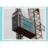 China Heavy Load Capacity Man And Material Hoist , High Speed Construction Hoist wholesale