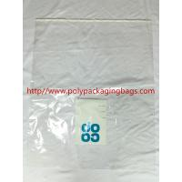 Buy cheap Large Permanent Self Adhesive Plastic Bags 1 Color Gravure Printing from wholesalers