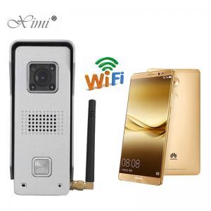 China Intelligent Waterproof Video Door Phone Metal Case Video Intercom Doorbell wholesale
