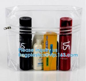 Buy cheap Hologram PVC Makeup Bag Transparent Laser Cosmetic Bag OEM Supplier, Zipper from wholesalers