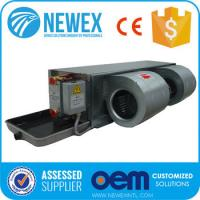 China 2018 NEWEX Chilled water FCU, Horizontal Concealed Fan Coil Unit on sale