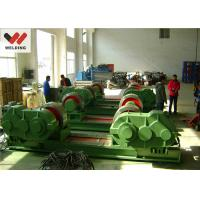 China Fit Up And Assembly Pipe Welding Rotator , Bolt adjustable Welding Turning Roller HGK10 For Tank wholesale