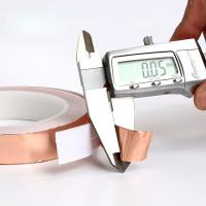 China Die Cutting Copper Foil EMI RFI Shielding Tape 0.05mm Thickness wholesale