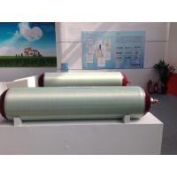 China 150L / 212L Glass Fiber CNG Gas Cylinder With 25MPA Working Pressure Plastic Powder Spray Tech wholesale