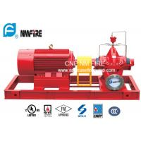 China Oil Depots Electric Motor Driven Fire Pump 500GPM / 150PSI UL Listed wholesale