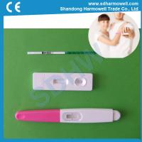China Hot sale one step rapid urine hcg pregnancy test with CE and FDA certification wholesale