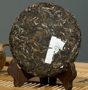 China Flavored Raw Pu Erh Tea Cake , Top Grade Chinese Puer Tea Slimming Tea wholesale