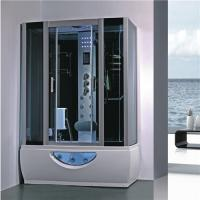 China Large Rectangular Shower Enclosure Hydromassage Steam Bath Shower Combination wholesale