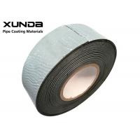 China Good Peel Strength Pipeline Joint Wrap Tape Rubber Adhesive With 50% Overlap wholesale