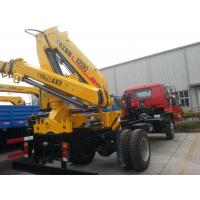 China XCMG 2035kg Crane, Durable 5 Ton Hydraulic Lifting Truck Mounted Crane wholesale