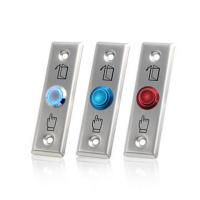 China Stainless Steel Access Control Exit Button Push Button Exit Switch With LED wholesale