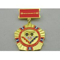 China 2D or 3D Brass Custom Awards Medals on Breast with Die Stamping, Photo Etching, Injection wholesale