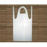 China PE White Disposable Paint Aprons High Recyclable Size 80cm*120cm wholesale