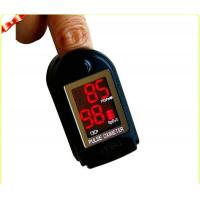 China Black Mini Fingertip Pulse Oximeters for Oxygen Bar CE wholesale