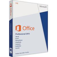 China DVD Activation Microsoft Office 2013 Professional Plus Genuine 64 Bit on sale
