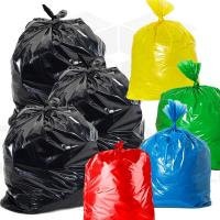 China Industrial Plastic Coloured Rubbish Bags  , Moisture Proof Glad Kitchen Trash Bags wholesale