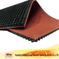 China rubber flooring for competition running track wholesale