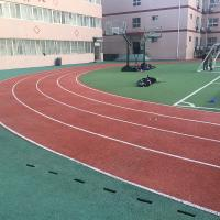 China Corrosion Resistance Synthetic Rubber Flooring For Sports Court / Public Court on sale