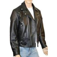 China S M L XL sportswear stylish polar Fleece Lined Leather jackets for male wholesale