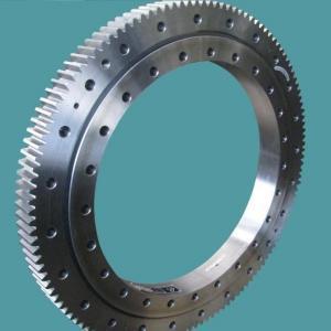 China Three Row Pole Industrial Turntable Bearings , Komatsu PC650 Ball Bearing Slewing Ring wholesale