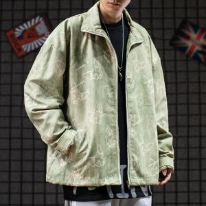 China OEM ODM Light Yellow Washed Men Denim Jacket 100% Polyester wholesale