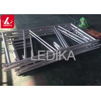 China Event Organizer Lighting Banner Stand Backdrop Truss In Triangular Shape wholesale
