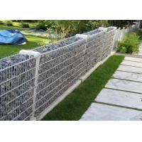China Welded Hot-dipped Galvanized Gabion Box / Rock Cage Retaining Wall Economic wholesale
