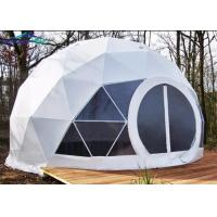China Fireproof Camping Geo Dome Tent Customized Design Exhibition Dome Tent wholesale