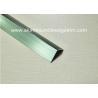 China Good Anodized Champagne Aluminium Angle Trim 20mm x 20mm x 2.5m wholesale