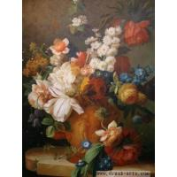 Classical Flower Oil Painting(Www.Drunk-arts.Com)