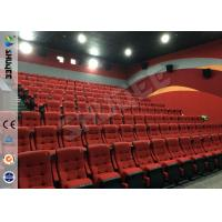 China Real Feeling Large Screen Hd 3D Cinema System For Holding 40 People wholesale