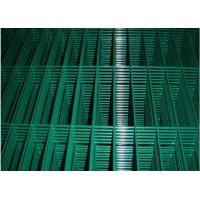 China High Strength Green Metal Welded Wire Mesh Durable With 2.0mm-5.5mm Dia wholesale