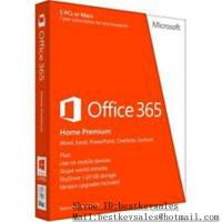 China Microsoft Office activation key code for Office 365 Home Premium for 5PC wholesale